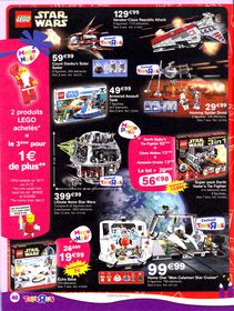 STAR WARS TOYS R US CATALOGUE NOEL PROMO JOUET