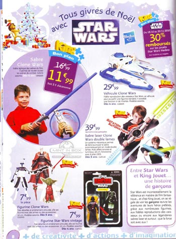 catalogue noel 2010 king jouet star wars