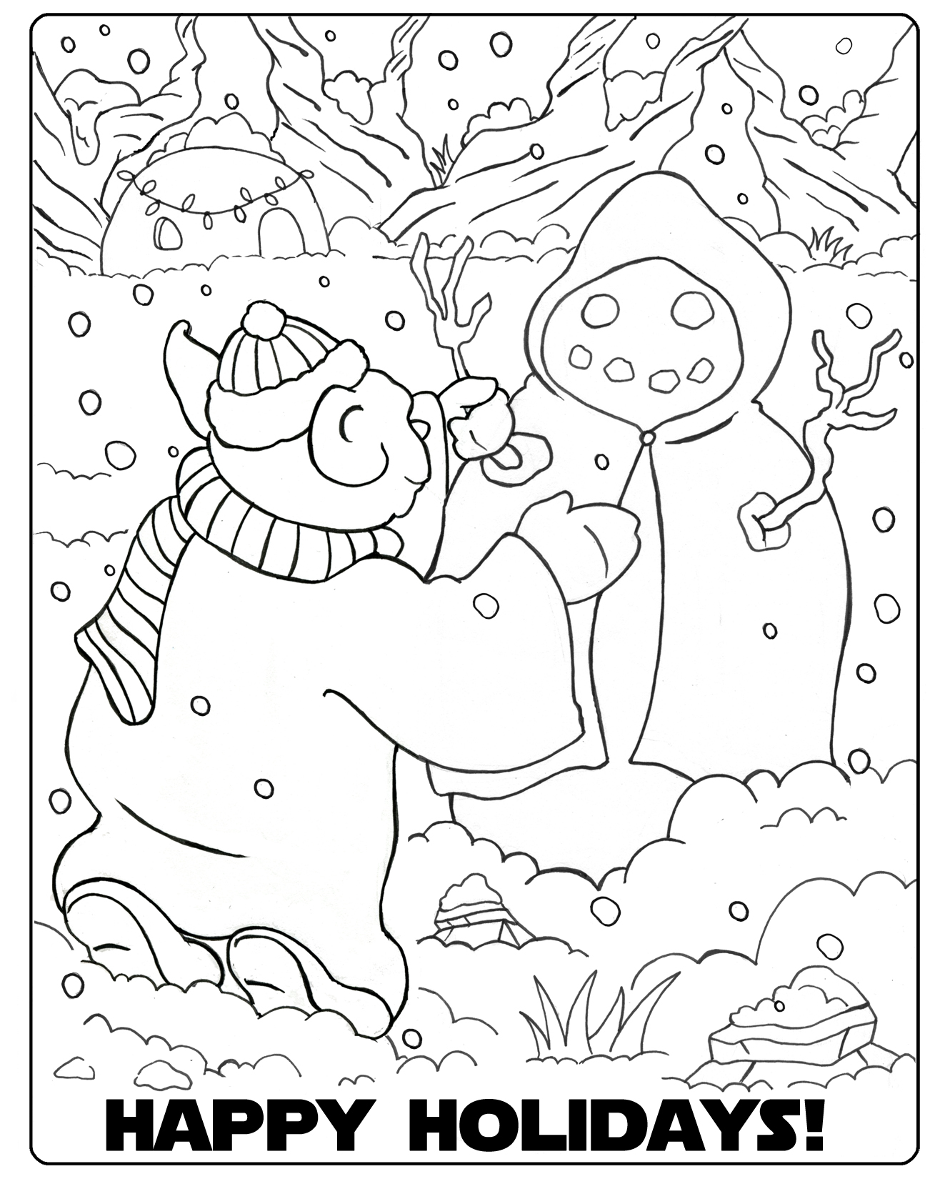 star wars christmas coloring pages star wars christmas color pictures to pin on pinterest
