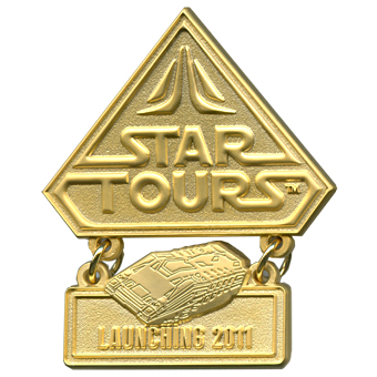 Star Wars Star Tours Countdown pins