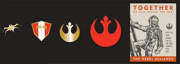 Star Wars Rebel Alliance Recruitment Pin Set