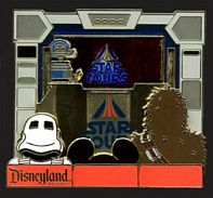 Star Wars Piece of Star ToursHistory Jumbo Pin