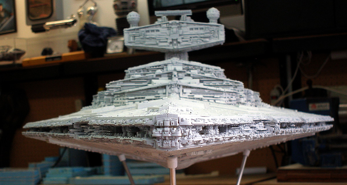 star destroyer model kit randy cooper   website of guvelens