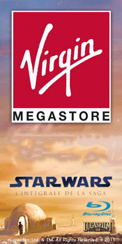star wars bluray virgin megastore event paris