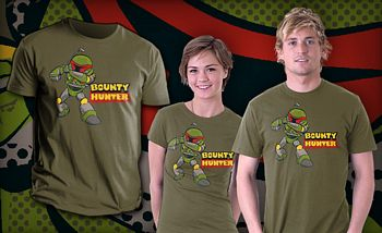 Star Wars Bounty Hunter TeeFury Shirt