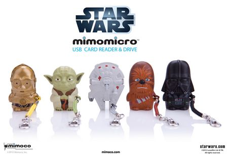 Star Wars Mimoco Mimomicro USB card reader and Drive