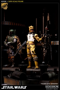Star Wars Sideshow Collectibles Bossk Sixth Scale Figure exclusive