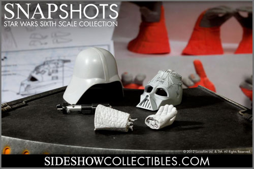 star wars sideshow collectibles darth vader return of the jedi sixth scale