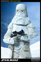 star wars sideshow collectibles snowtrooper sixth scale figure e-web cannon
