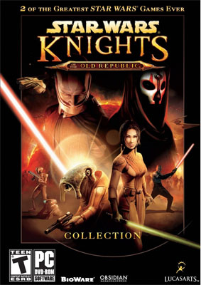 star wars knight of the old republic video game 2-pack