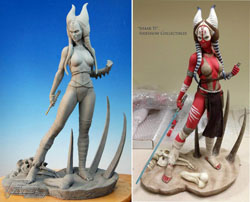 star wars sideshow collectibles shaak ti premium format sculpture prototype