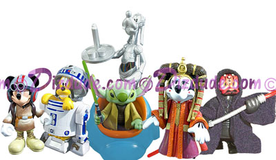 star wars disney figure serie 6 celebration VI