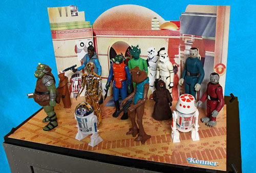 star wars gentle giant kenner jumbo cantina playset 12 inch