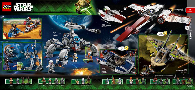 Lego LEGO catalogue juillet à décembre 2015