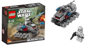 star wars lego microfighter wave 1 x-wing tie clone luke skywalker