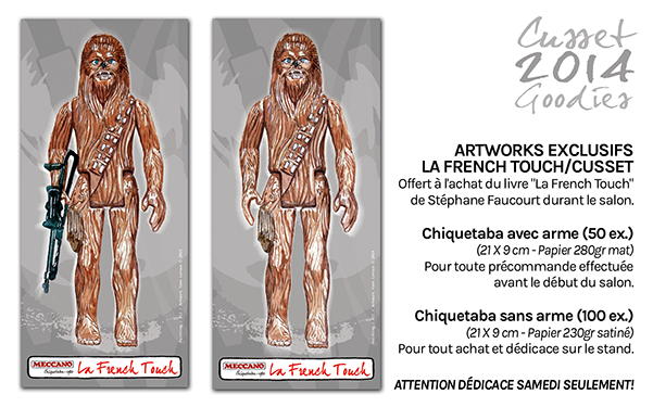 star wars event convention generations star wars et sci-fi 2014 stephane faucourt la french touch dedicace conference