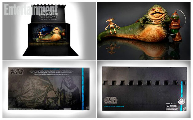 Star Wars Hasbro Jabba Black Series SDCC Exclu