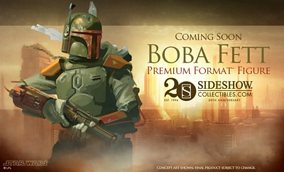 Star Wars Sideshow Collectibles Boba Fett Premium Format