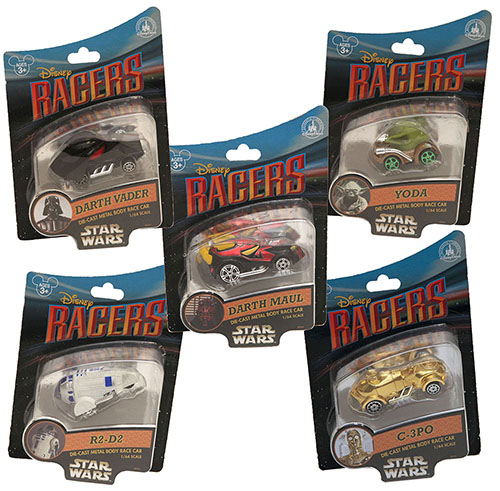 star wars disney sracer cars figure