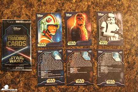 star wars disney store goodies may the 4th yavin medale card