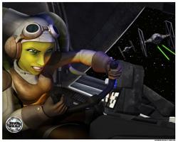 star wars official pix star wars rebels photos first time Hera sabine kanan Ezra Zeb Kallus