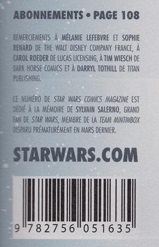 star wars comics mag delcourt numero 9 hommage a sylvain