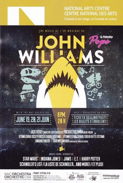 The Music of John Williams NAC Ottawa