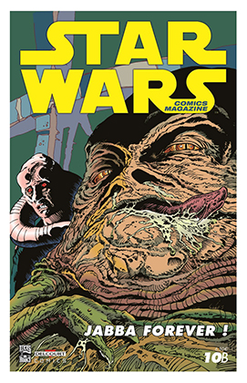 star wars delcourt comics mag numero 10 couv A couv B