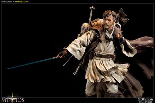 star wars sideshow collectibles obi-wan kenobi mythos statue