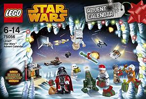 star wars lego calendar 2014 darth vader santa pere noel rouge